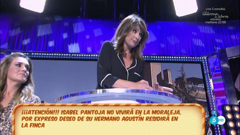 Isabel Pantoja va a vivir en La Finca, según Gema López