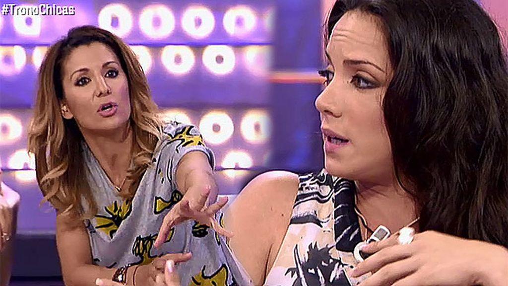 """Nagore, a Samira: """"Lo que haces es ilusionar a los dos para que ninguno se vaya"""""""