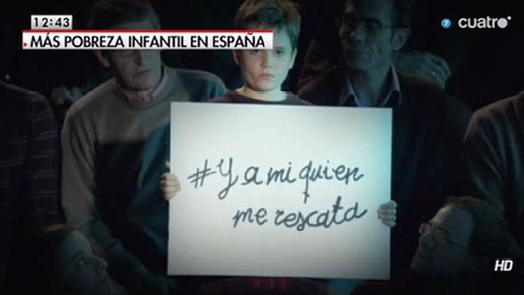En España más de 2.800.000 niños están en riesgo de pobreza y exclusión social