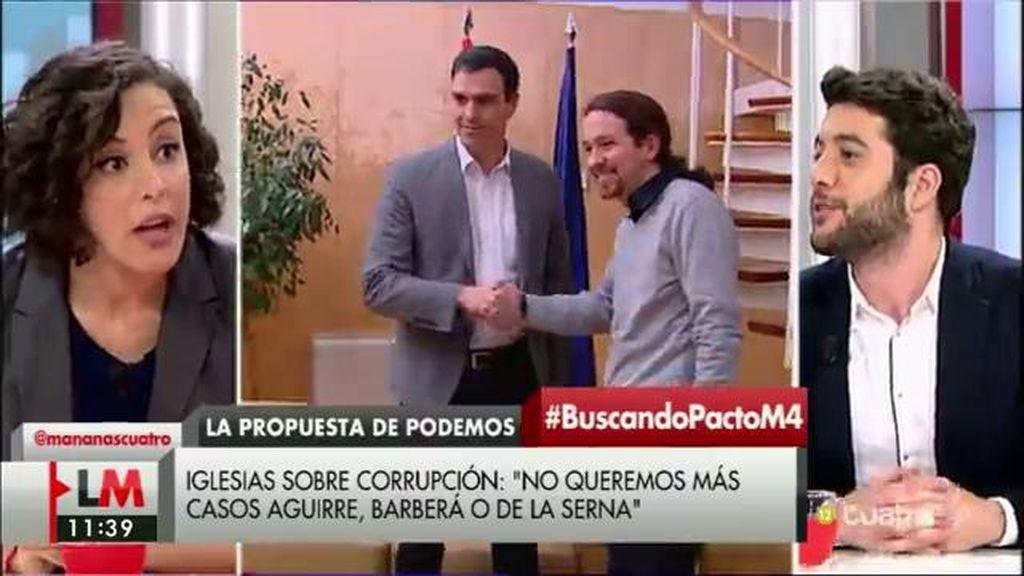"""Nagua Alba: """"No creer en España y querer romper España es sostener gobiernos corruptos como el del PP en Madrid"""""""