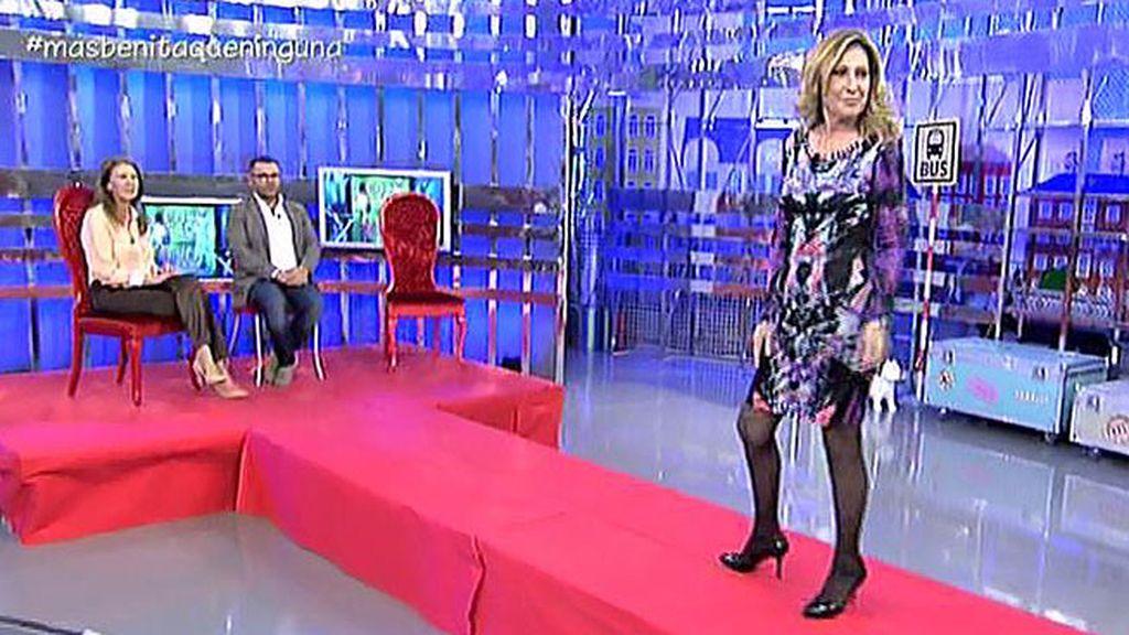 Rosa Benito cambia de reto: prefiere desfilar en pasarelas a ser 'Mrs. España 2015'