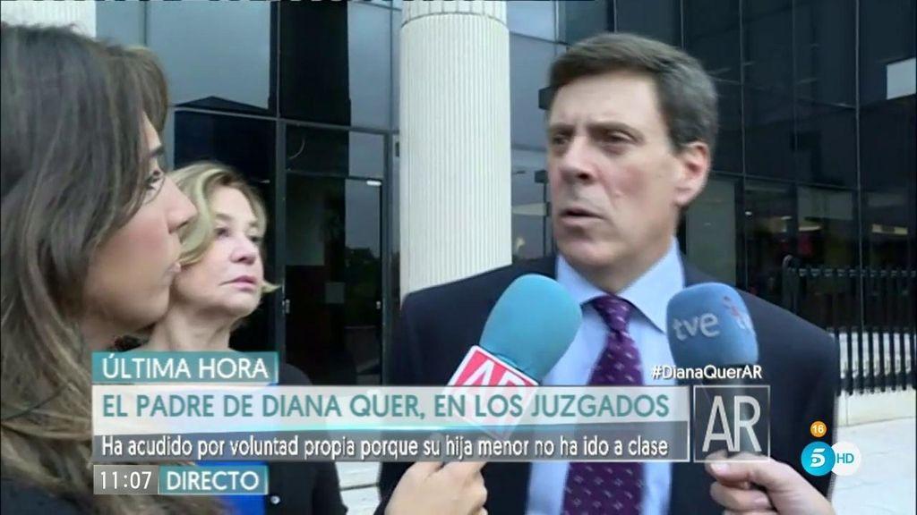 """J.Carlos Quer: """"No quiero que Valeria esté en ningún entorno distinto de su colegio"""""""