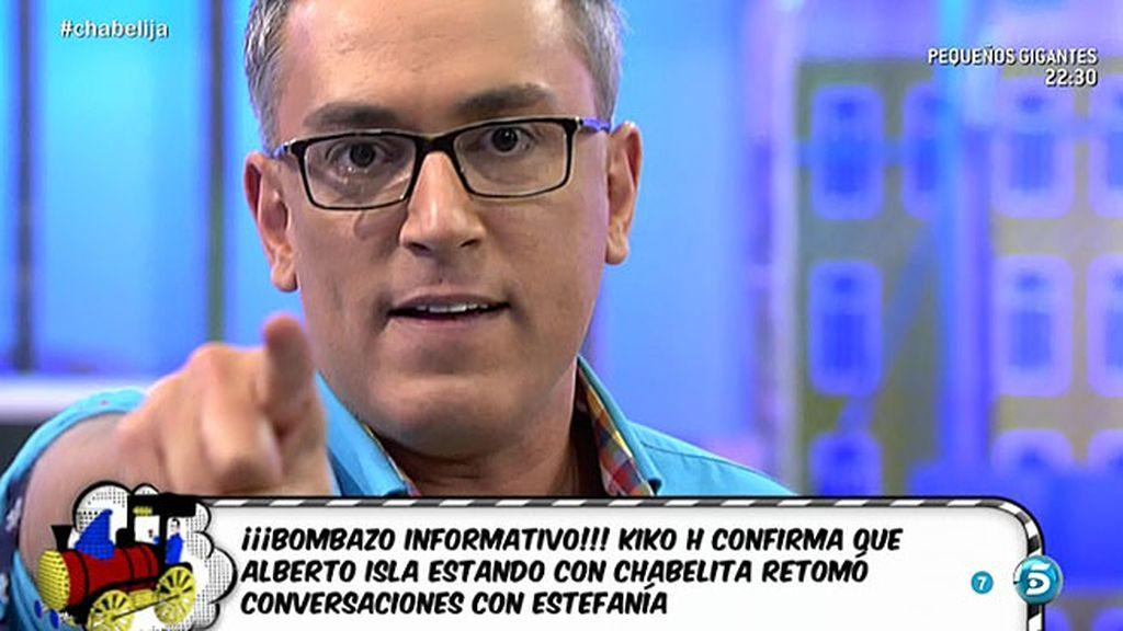 """Kiko Hernández estalla contra Chabelita: """"Eres de la misma calaña que Kiko Rivera"""""""