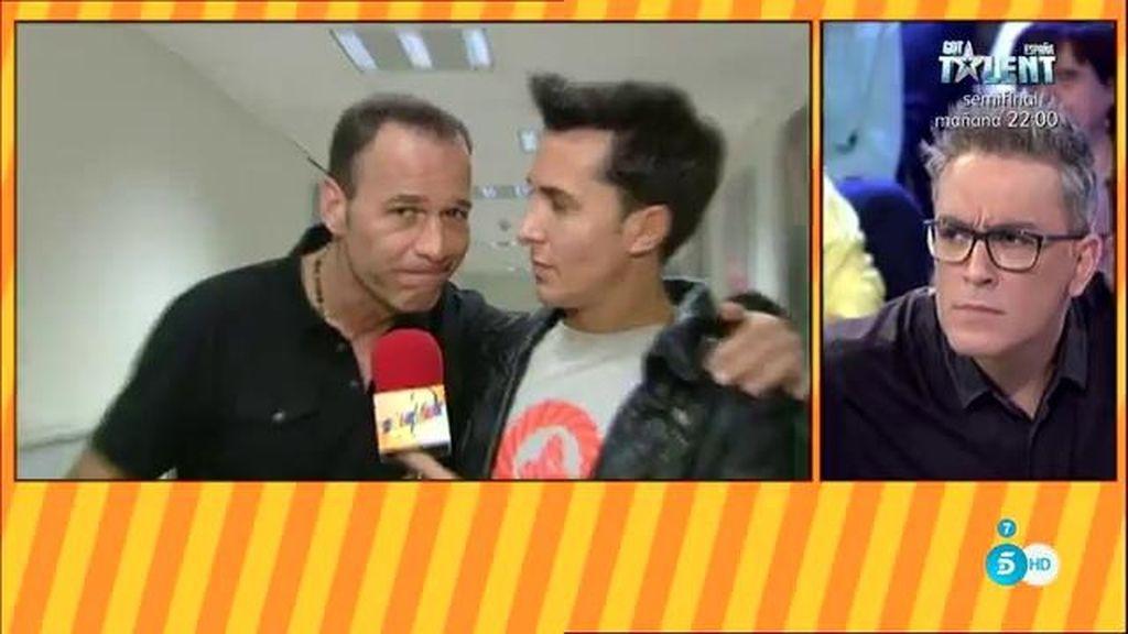 """Carlos Lozano, a Kiko: """"He quedado segundo ¿Se me nota cara de segundo?"""""""