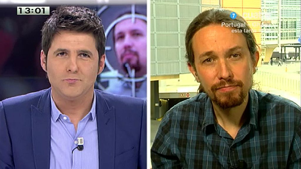 """Pablo Iglesias: """"Pediré a los diputados socialistas que hagan un voto por la dignidad"""""""