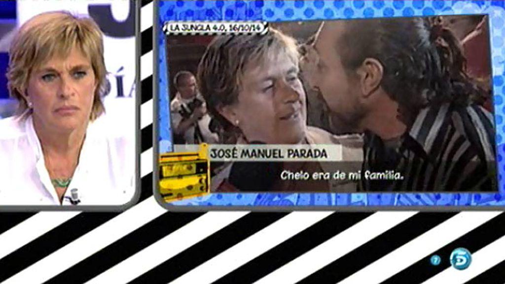 """Jose Manuel Parada: """"Isabel Pantoja y yo jamás nos hemos mofado de Chelo"""""""
