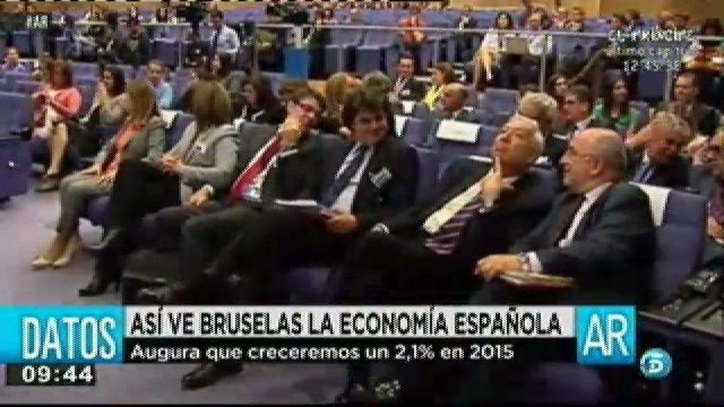 Bruselas revisa al alza el crecimiento de España pasando al 2,1% en 2015