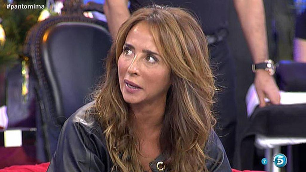 """María: """"Las presas de Alcalá le cantan canciones a Pantoja para que se una a ellas"""""""