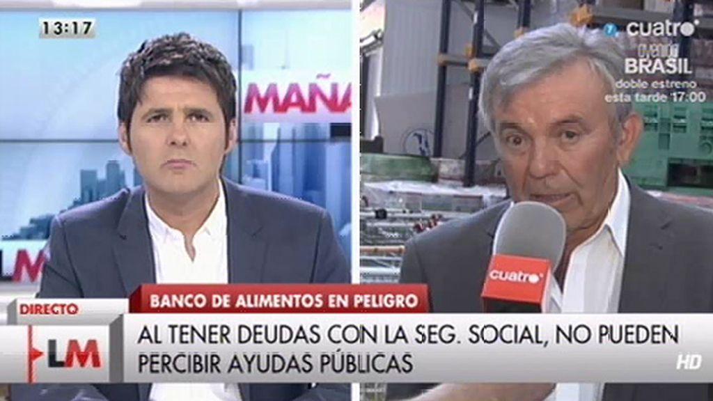 El banco de alimentos de Valencia podría cerrar por una deuda con la Seguridad Social