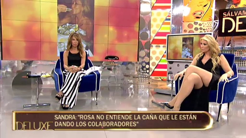 """Sandra: """"Desde que no está en Telecinco, Rosa es más feliz"""""""