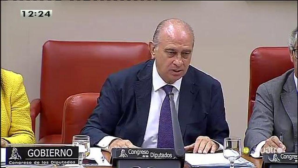 """""""La situación judicial de Rato no es de mi incumbencia, su seguridad sí"""""""