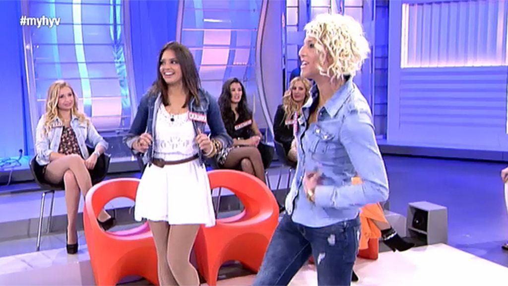 Sandra reta a María a lo 'Pretty woman'