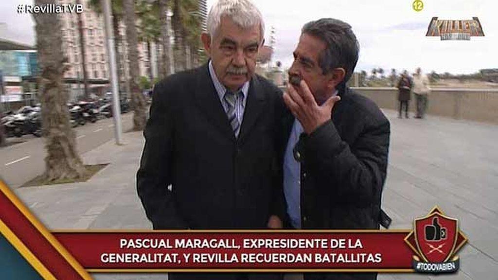 """Revilla llevará a Pasqual Maragall a Cantabria en 'Este país merece la pena"""""""