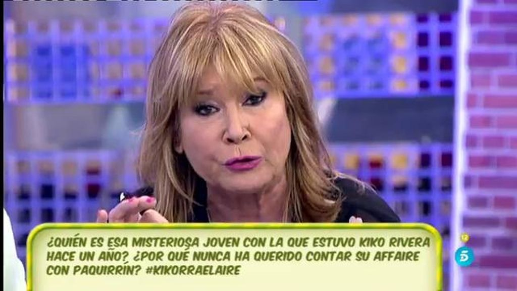 "Mila Ximénez, a Kiko Rivera: ""Yo he tenido el respeto que tú no has tenido a Irene"""