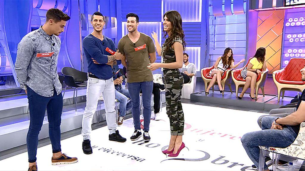 Sofía vuelve a sonreír con Raúl, Alexis y Jesús, sus nuevos pretendientes