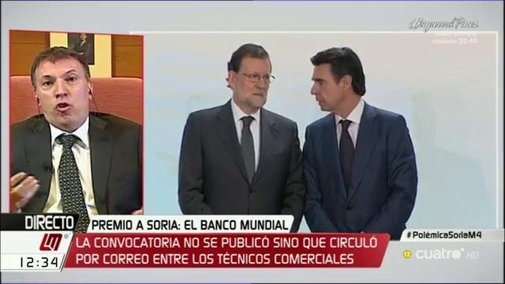 """Juez Bosch: """"Lo de Soria ha sido un nombramiento a dedo"""""""