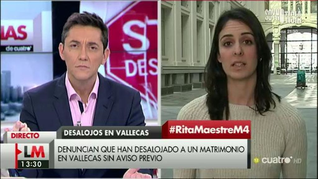 """Rita Maestre, portavoz del Ayuntamiento de Madrid: """"La ley hipotecaria nos ata"""""""