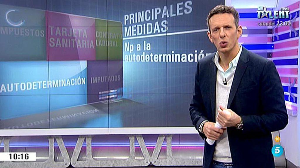 Analizamos las principales medidas acordadas con el pacto de PSOE y Ciudadanos