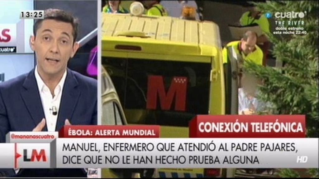 """Manuel: """"Tuve contacto directo con el padre Pajares y no me han hecho pruebas"""""""