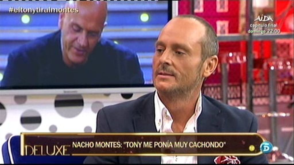"""Nacho Montes: """"Tony Spina me buscó a mi la primera noche"""""""