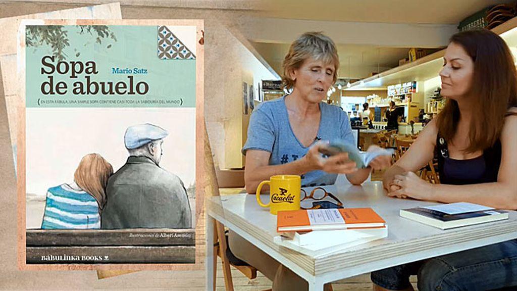 """Silvia, de 'Sopa de abuelo': """"Es un libro que muestra que merece la pena vivir"""""""