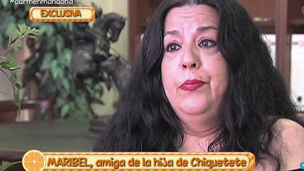 """Maribel, amiga de Rocío Cortés: """"La familia de Chiquetete no soporta a Gahona"""""""