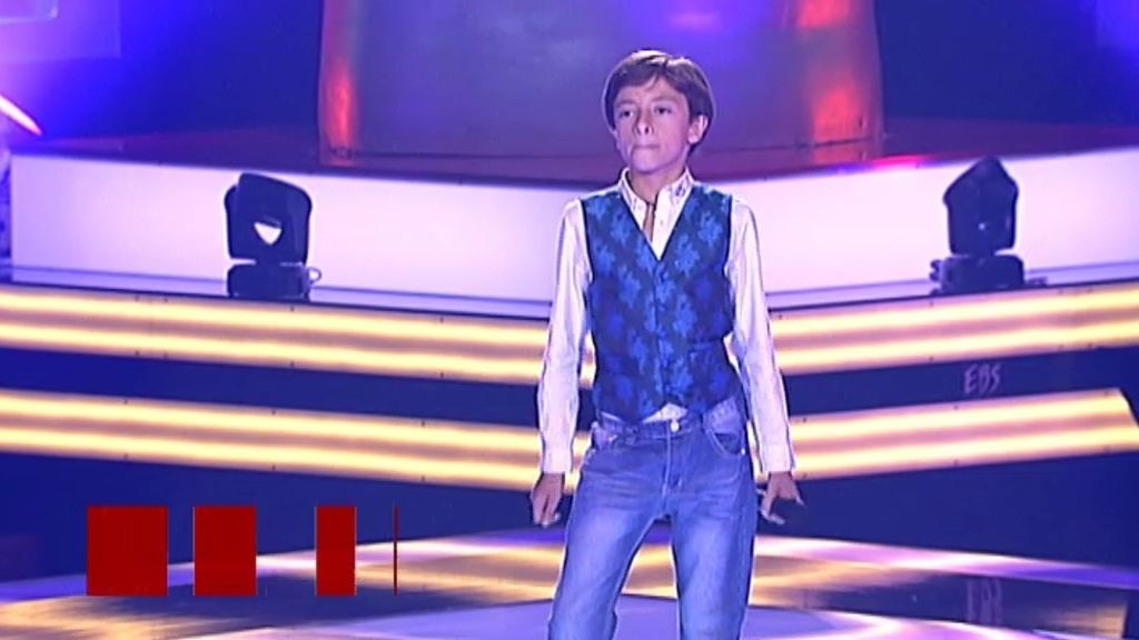 La actuación de Dani: 'Great Pretender'