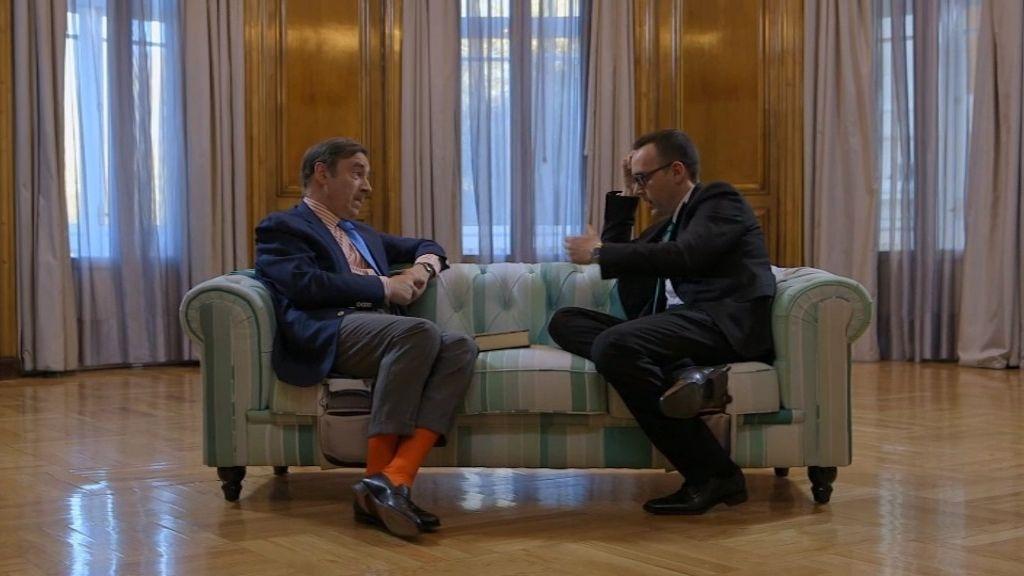 """Pedro J. Ramírez: """"Rajoy y yo nos quedamos encerrados en la biblioteca de mi casa"""""""