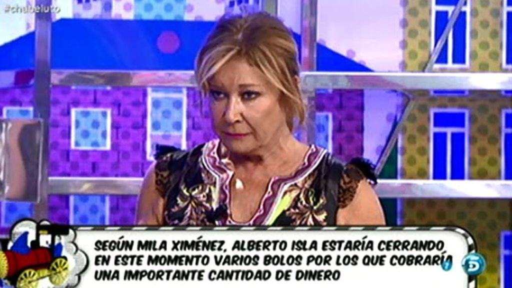 """Mila Ximénez: """"Las medidas provisionales de Chabelita ya están puestas"""""""