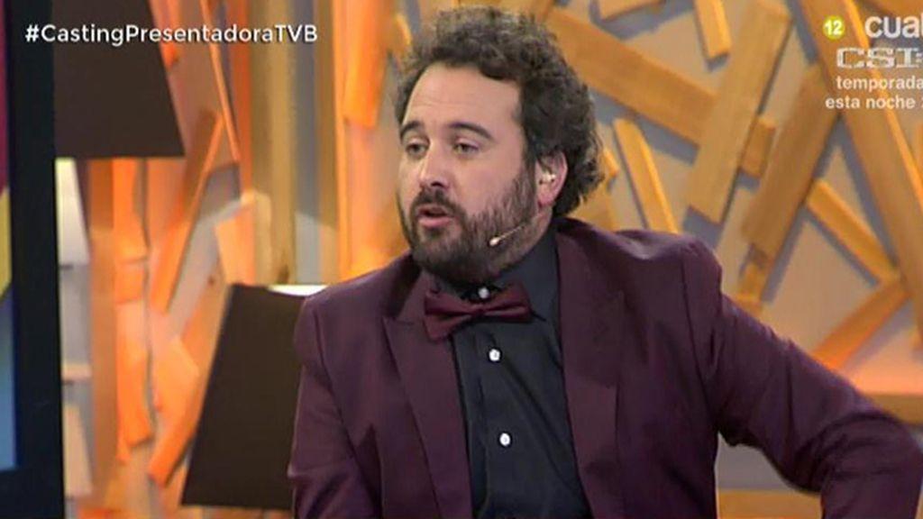 """Miguel Martín, con pajarita: """"Voy vestido como Messi en la gala del Balón de Oro"""""""