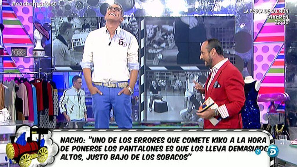"""Nacho: """"Kiko Hernández es de los tíos peor vestidos que he conocido en el mundo"""""""