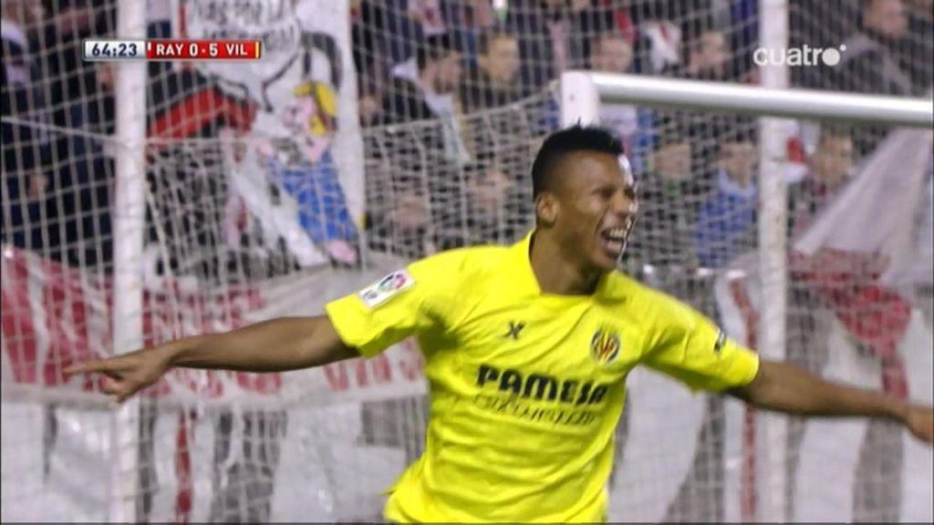 Gol de Uche (Rayo 0-5 Villarreal)