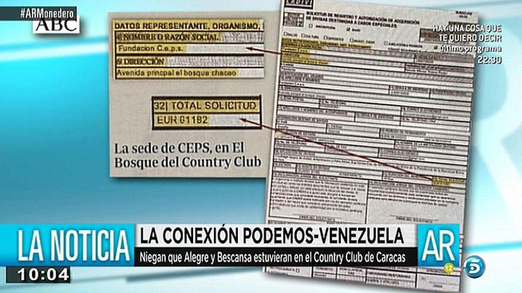 La cúpula de Podemos está o ha estado vinculada a la CEPS, según 'ABC'
