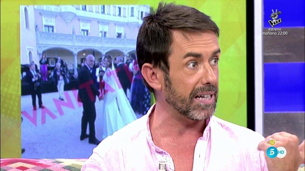 """J.M. Ruiz: """"Quien filtró la foto de los novios con Carlota y Raúl fui yo y la filtré por error"""""""