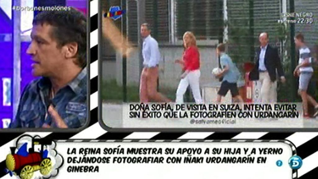 Las infantas Elena y Cristina podrían quedarse sin escolta, según G. González