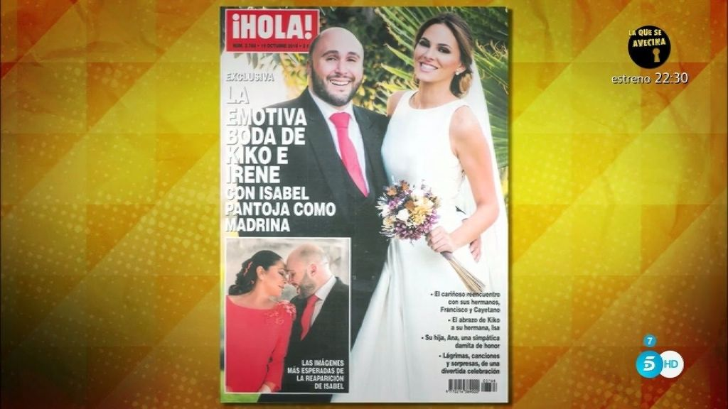 'Sálvame' analiza los estilismos de la boda de Kiko Rivera e Irene Rosales