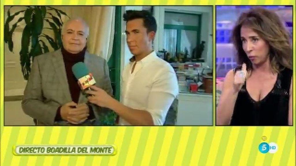 """Moreno, de Sanchís: """"No nos vincula nada profesional pero espero que nos vincule"""""""