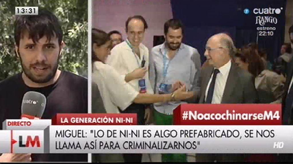 """Miguel: """"Nini' me parece una etiqueta para criminalizar a los jóvenes"""""""