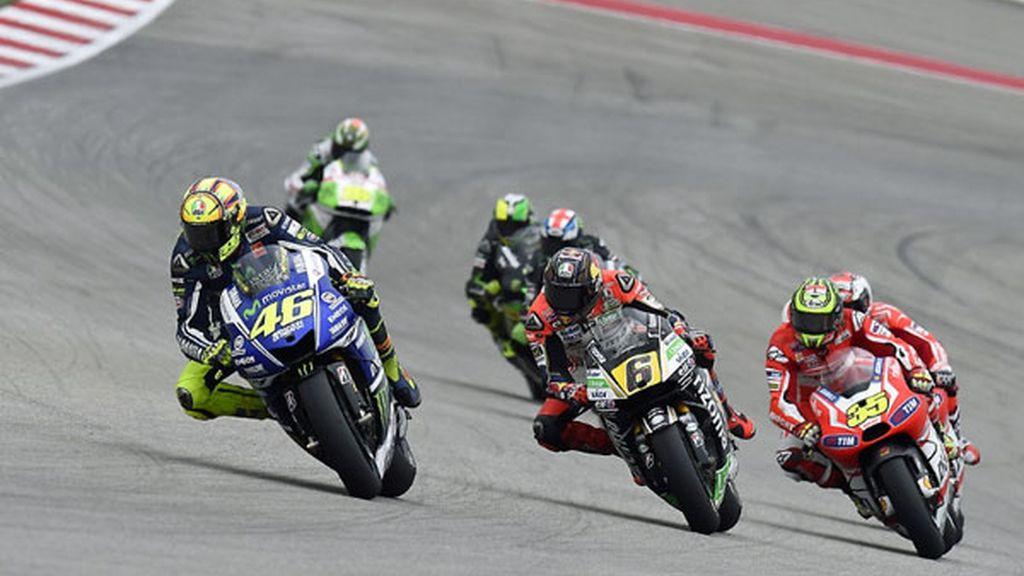 Así fue la carrera de MotoGP en Austin