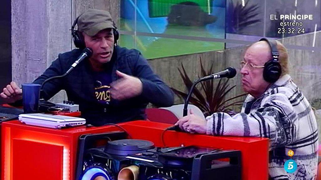 """Rappel, muy molesto con Carlos porque no soporta que le llame """"Míster Romit"""""""