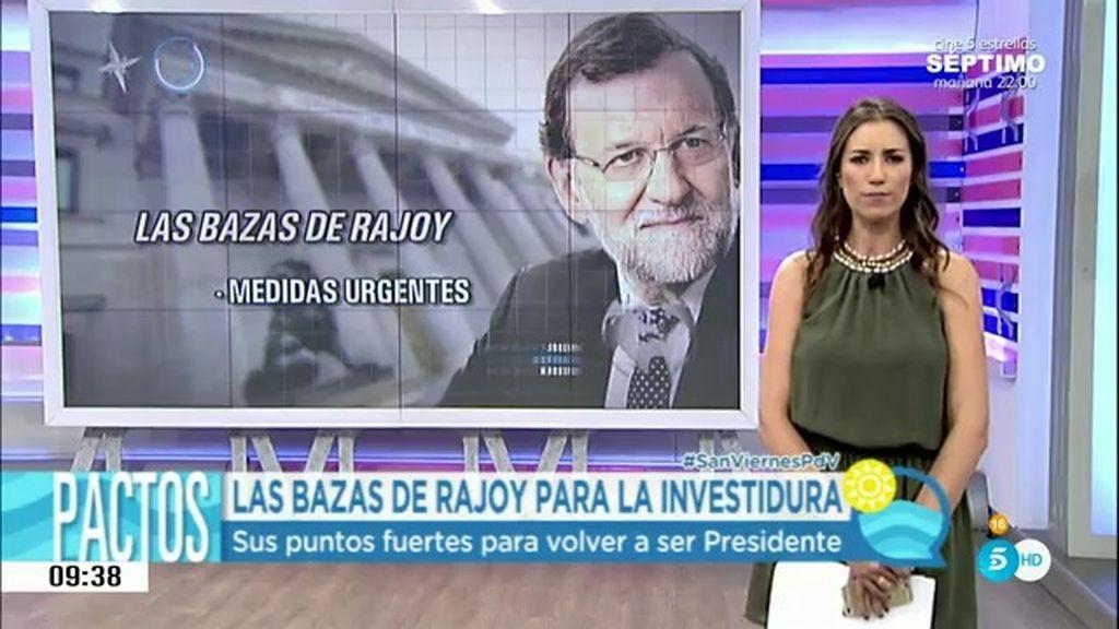 ¿Cuáles son los puntos fuertes de Rajoy para volver a ser presidente?