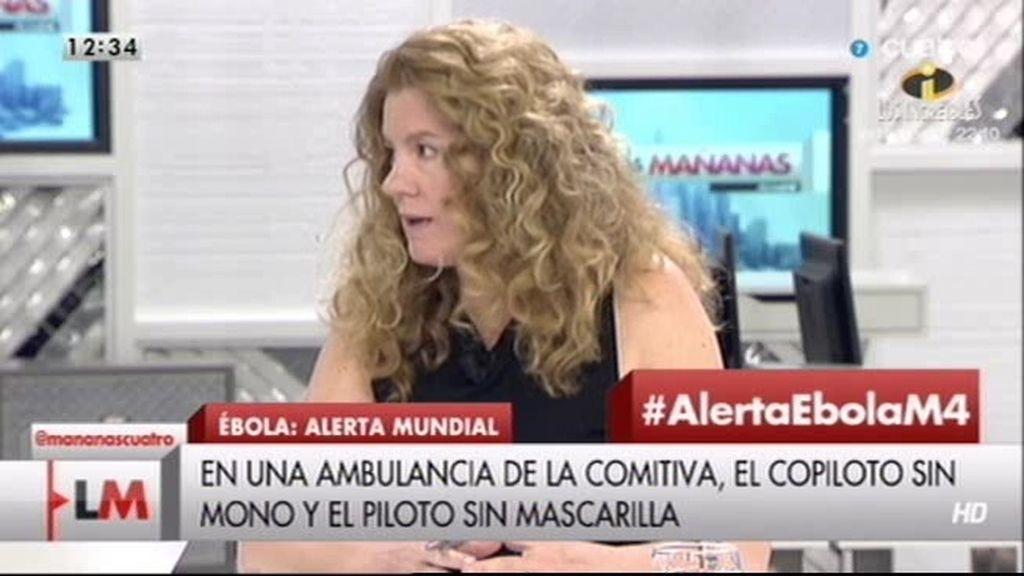 """Graciella, periodista: """"Ponemos en peligro la vida de miles de personas para proteger una"""""""