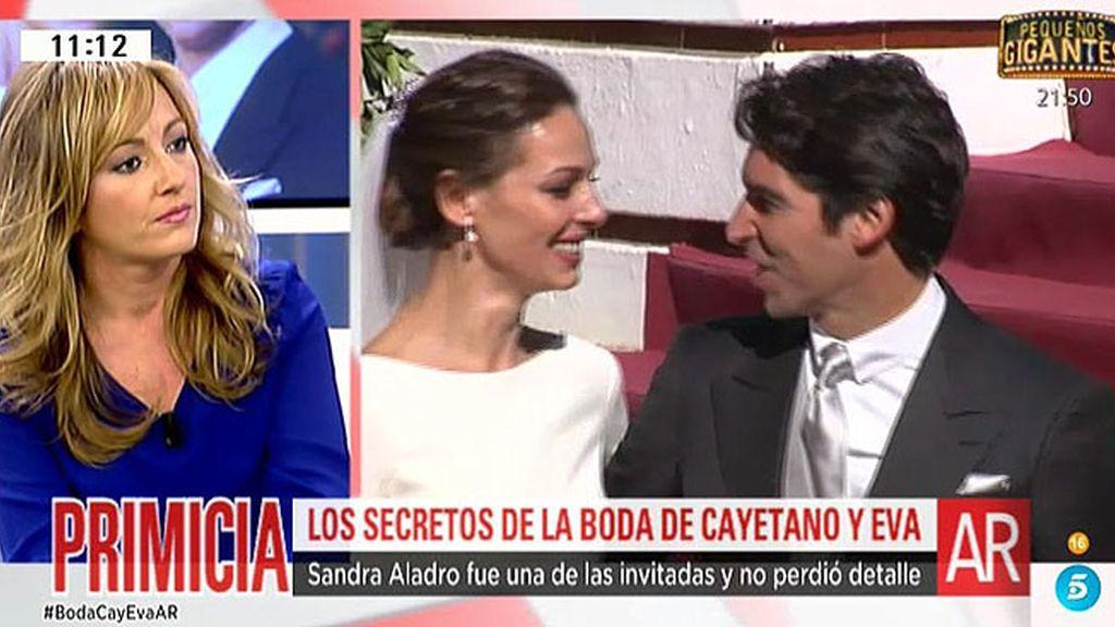 """Sandro Aladro, invitada: """"Fue una boda de amigos, cero compromisos"""""""