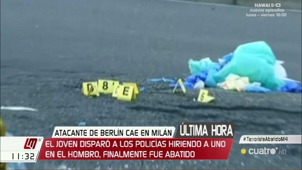 El terrorista Anis Amri ha fallecido en un tiroteo con la policía en Milán