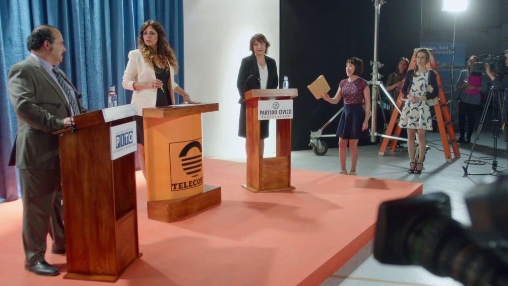 Mariana vence en un debate electoral marcado por los trapos sucios