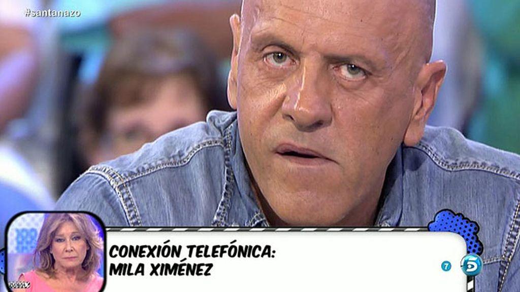 """Mila Ximénez se enfada con Kiko M.: """"¿A qué tienes miedo? Me has decepcionado"""""""