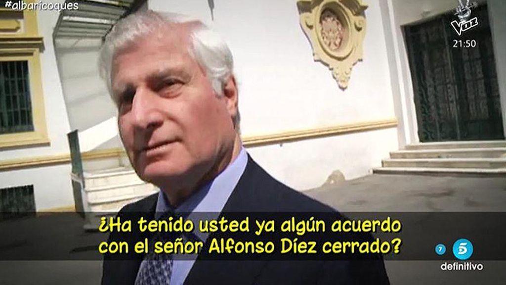 Carlos Huéscar no se pronuncia sobre la polémica por la herencia de la Duquesa