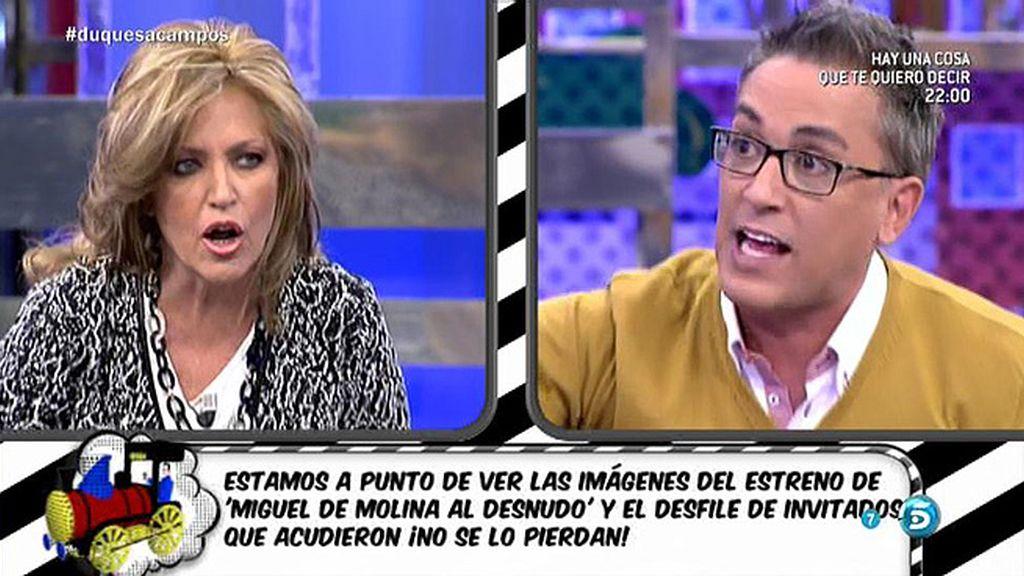 Las críticas de la audiencia desatan el enfrentamiento de Kiko Hernández y Lydia