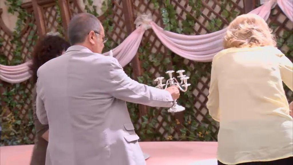 La boda de Carlos y Rebeca se celebrará en casa de Maruchi