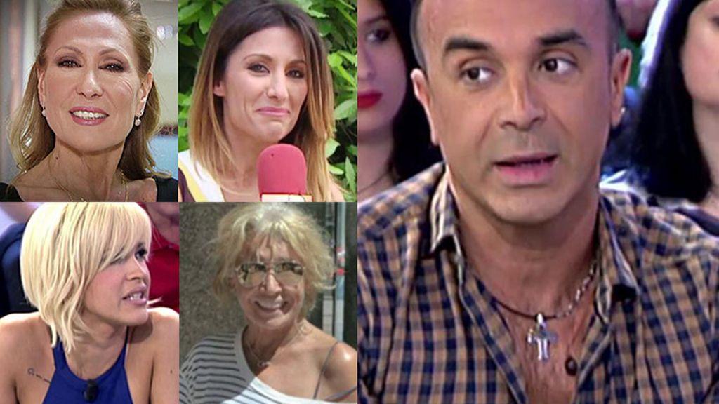 Rosa Benito, Mila Ximénez, Nagore Robles e Ylenia Padilla ¿traicionadas por Luis Rollán?